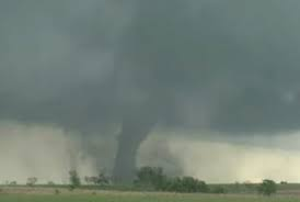 Tornado that destroyed Grace's home.