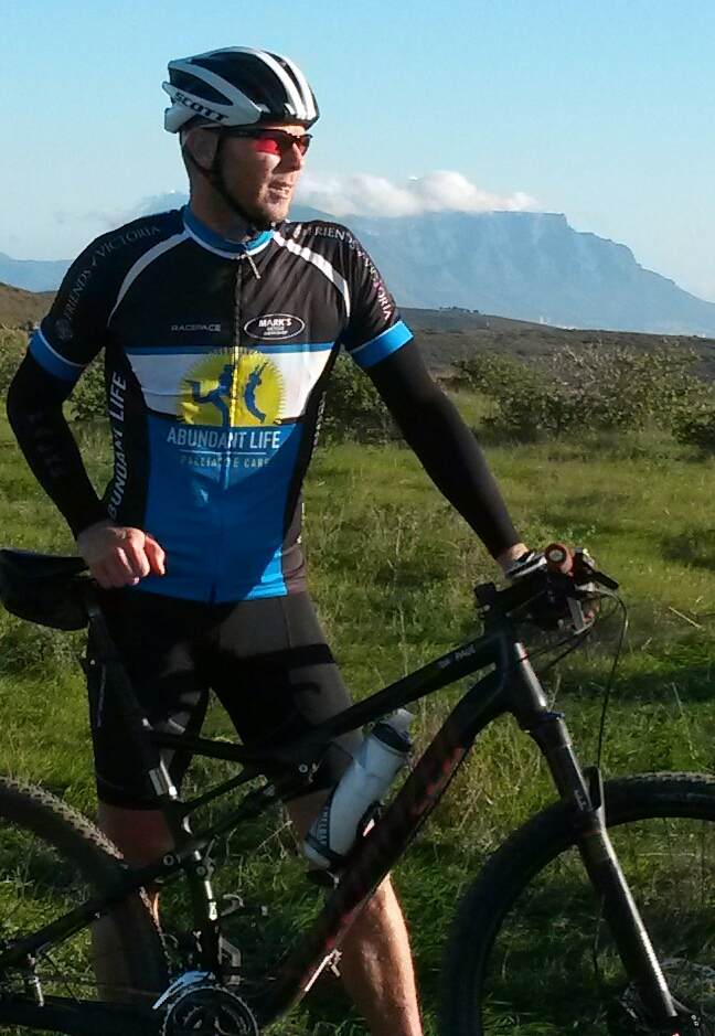 Paul Jacobs in training in Cape Town.